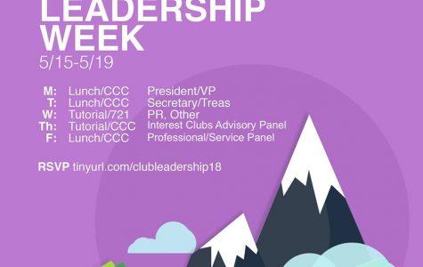 Club Leadership Week