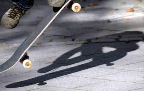 Skaters at Tino