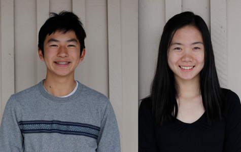 Kelly Ho and Ethan Hsiao are Siemens Finalists