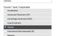 """New """"College-Prep"""" Classes"""
