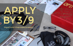 The Prospector Application is due 3/9!