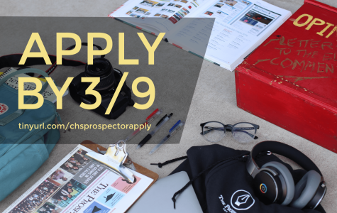 The Prospector Application is now open!