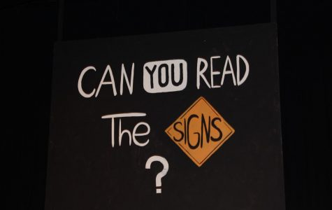 Can You Read the Signs – One Acts 2018