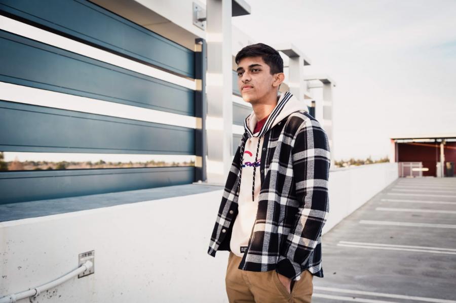 Soundcloud Rapper: Sayan Shaw