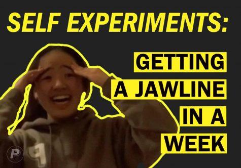 Quarantine Self Experiments: Getting a jawline in 1 week (Vlog)