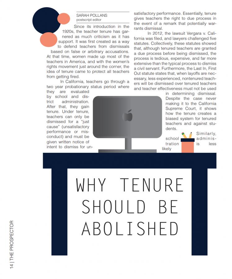Banning Teacher Tenure