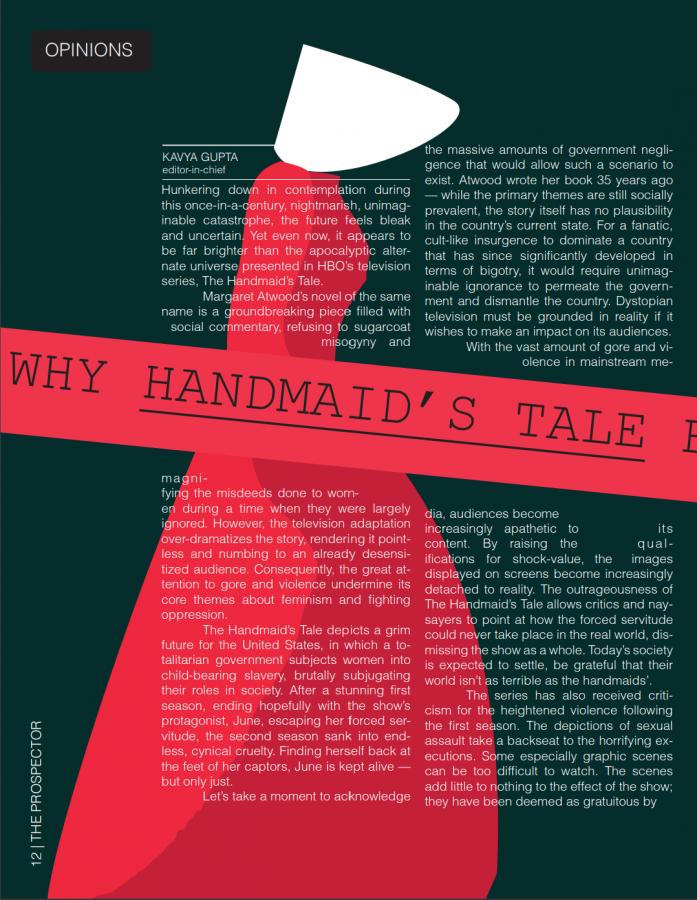 Why The Handmaid's Tale Encourages Misogyny
