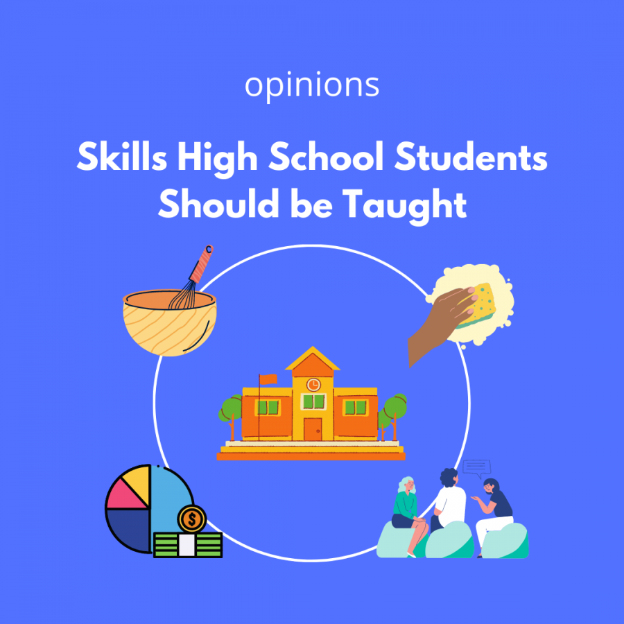 Skills High Schoolers Should be Taught